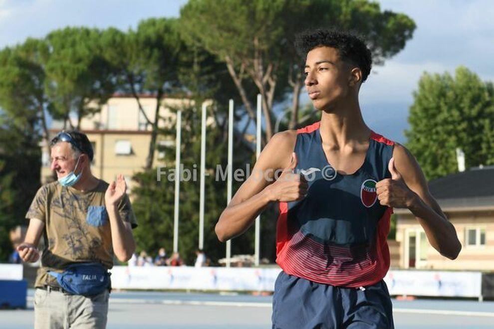 Mattia Furlani ancora una migliore prestazione italiana cadetti nel salto in alto