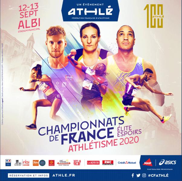 La diretta streaming dei Campionati francesi di atletica leggera 2020