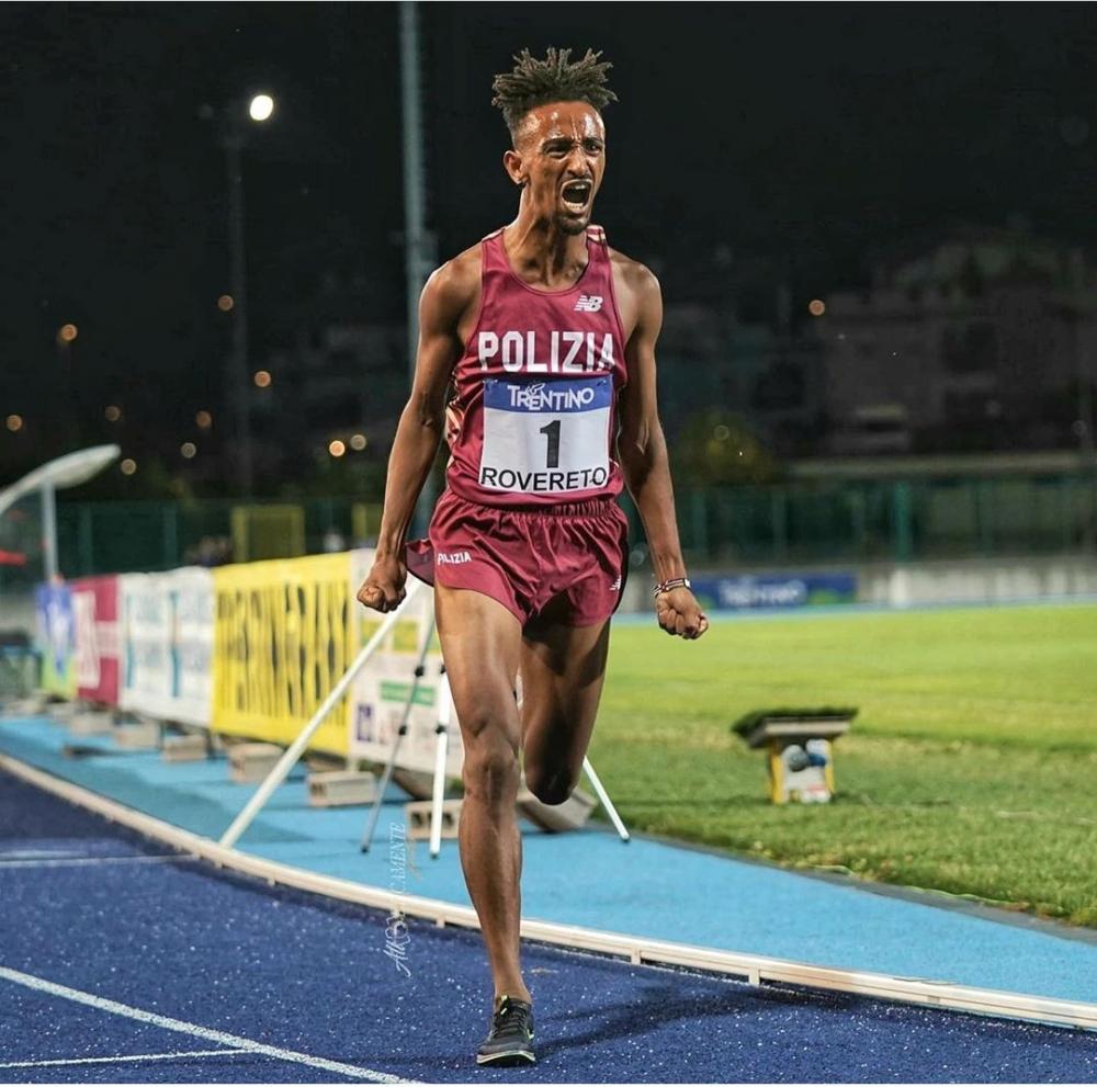 Yeman Crippa eccezionale:  battuto il record italiano dei 5000 metri di Salvatore Antibo