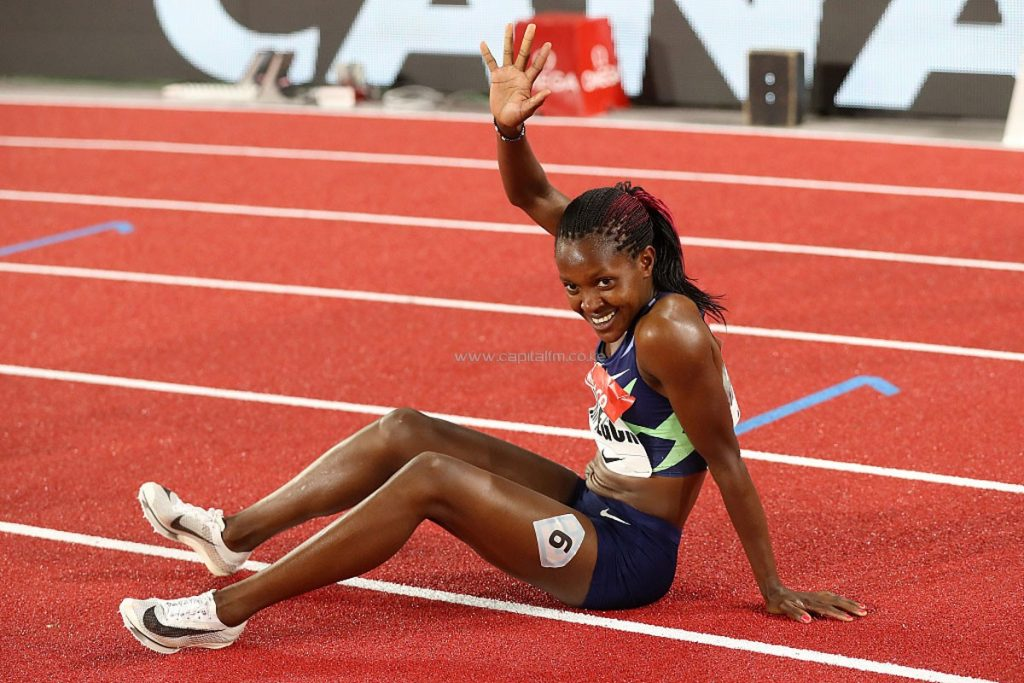 Doha: Kipyegon vince gli 800 metri femminili in modo scintillante
