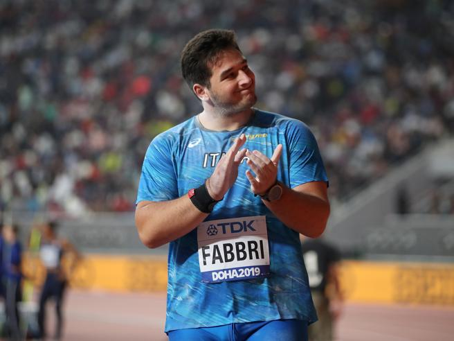 Ancora un ottimo terzo posto per Leonardo Fabbri nel peso ad Ostrava