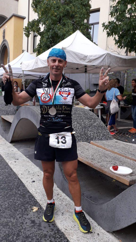 Filippo Castriotta, secondo alla 100km Etna Extreme- di Matteo Simone