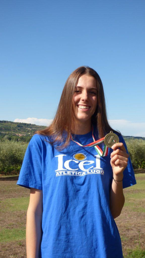 Marta Morara bronzo nell'alto agli assoluti di Padova