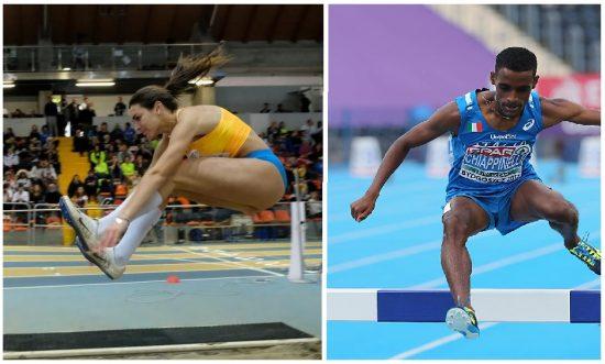 Veronica Zanon e Yohanes Chiappinelli martedi 22 settembre in gara a Barcellona