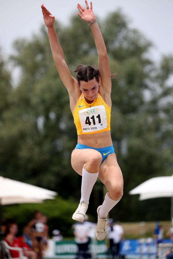 Veronica Zanon vola nel triplo al record italiano under 20 a Grosseto