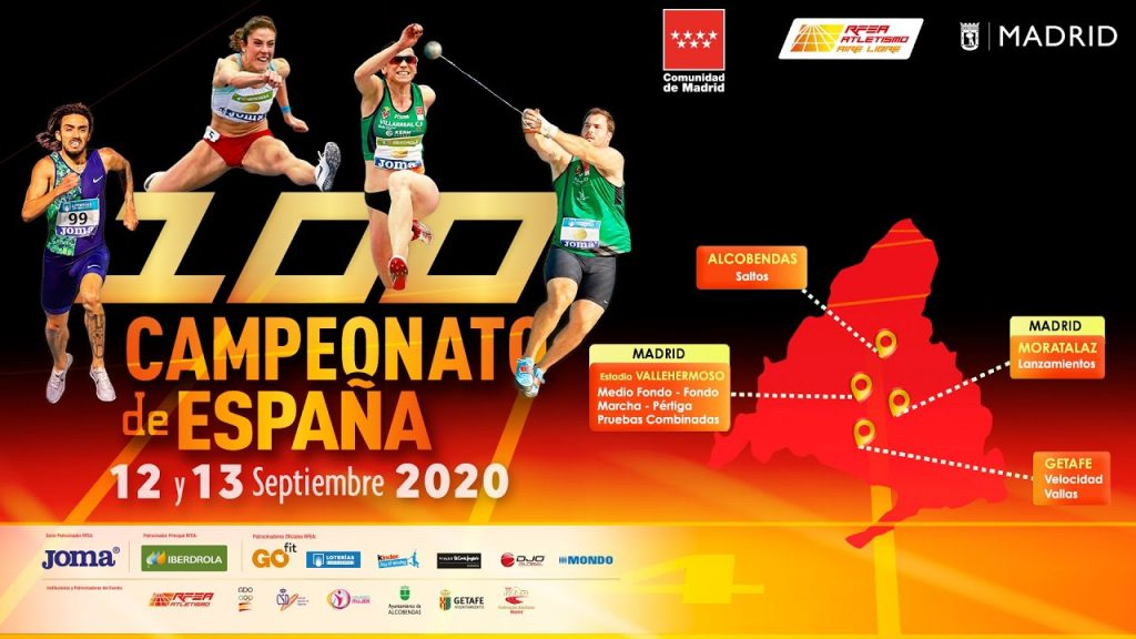 Oggi la diretta streaming dei Campionati spagnoli di atletica leggera Madrid 2020