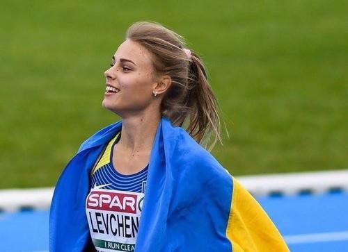 Yulia Levchenko vince la gara di salto in alto a Zagabria