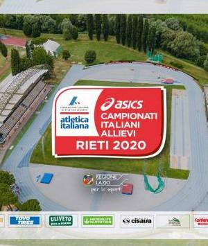Campionati italiani U18 Rieti: si parte, tutti i protagonisti e la DIRETTA STREAMING