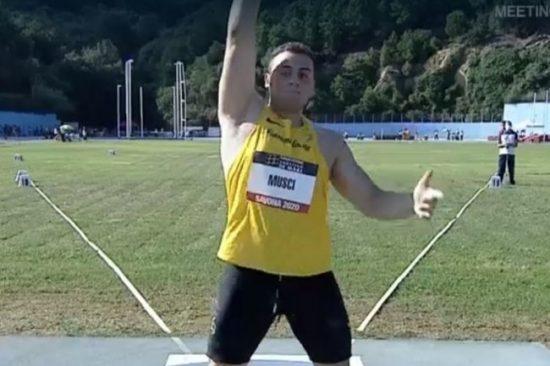 Tricolori juniores e promesse: un super Carmelo Musci vince il peso U20