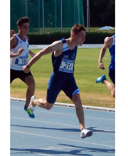 Tricolori allievi Rieti: Angelo Ulisse è il più veloce nelle batterie dei 100 metri
