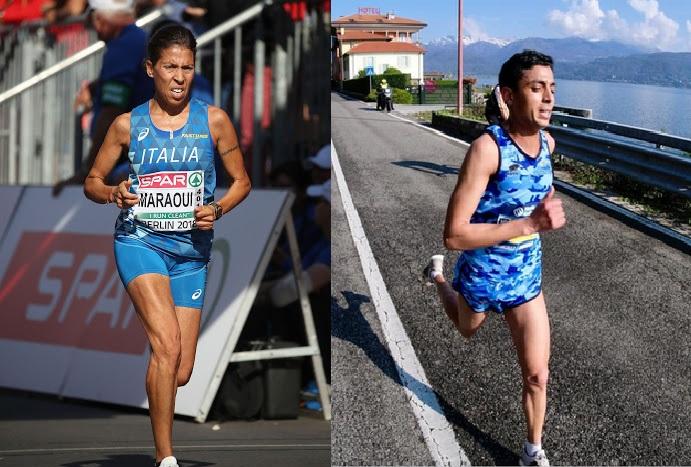 Gli azzurri Said El Otmani e Fatma Maraoui in gara sabato nella Mezza Maratona Mattoni in Repubblica Ceca- La diretta