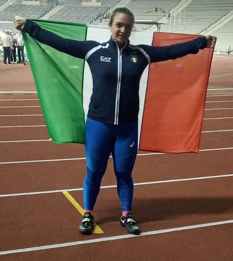 Tricolori allievi Rieti: record italiano per Rachele Mori nel lancio del martello