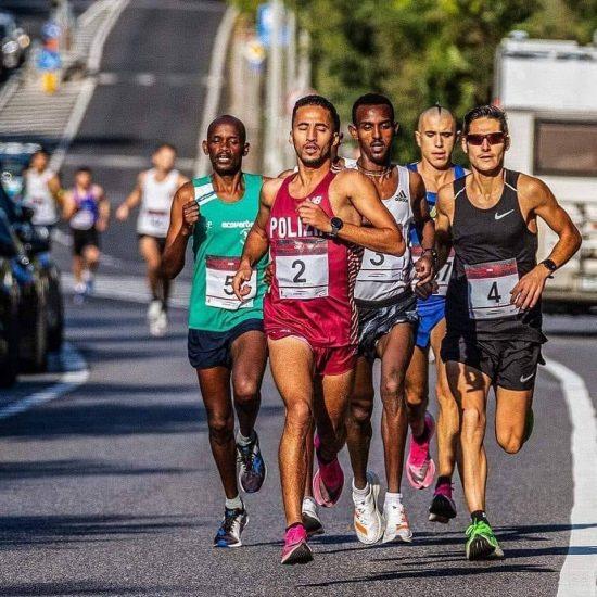 """PODISMO """"Corsa dei Castelli�  Vittoria per l'etiope Hagos Gebrhiwet"""