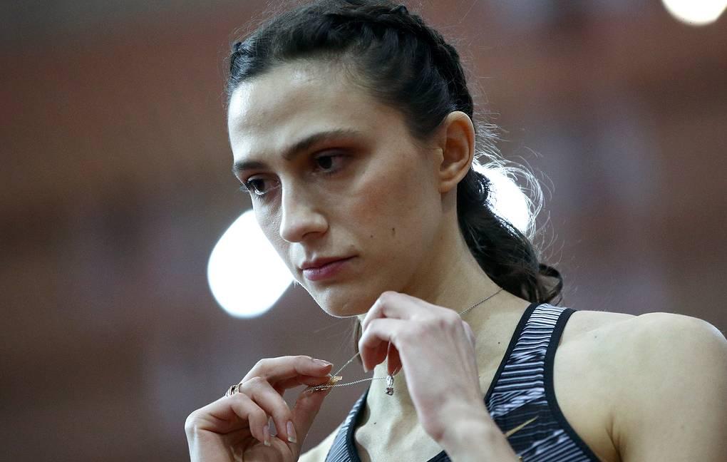 Lasitskene arrabbiata per l'esito del caso Naser,  prima squalificata per doping e poi scagionata