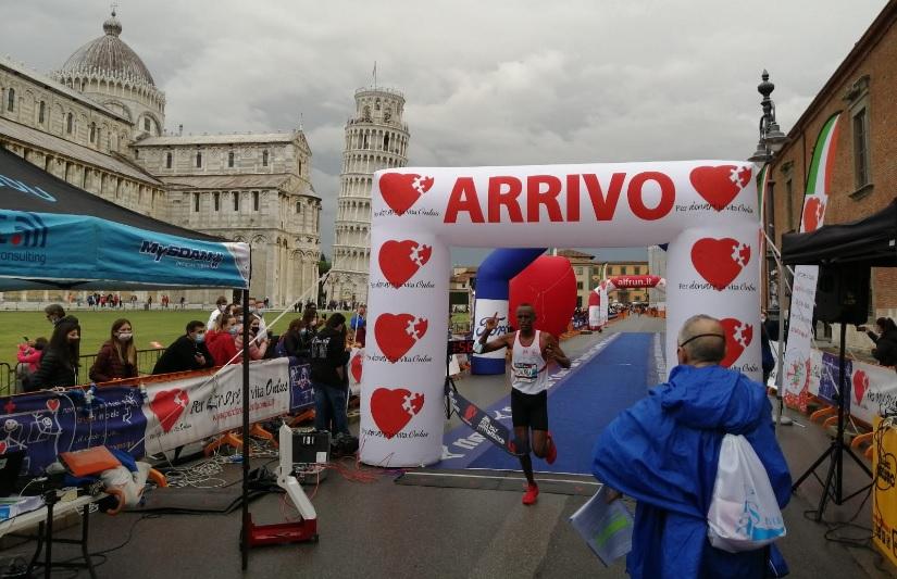 Risultati Pisa Half Marathon:  doppietta degli atleti del Burundi