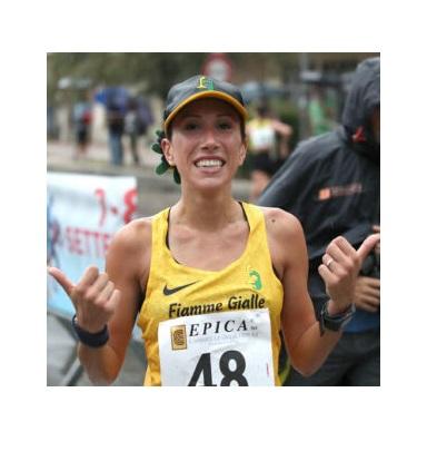 Antonella Palmisano record italiano nella 10 Km. di Marcia