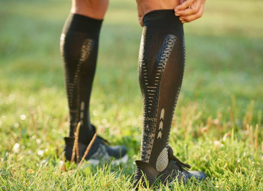Ecco la prova della RUN UP, calza specifica per attività di lunga durata studiata da FLOKY