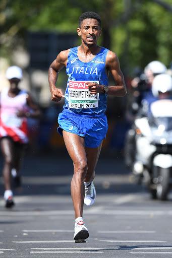 Eyob Faniel è l'azzurro più atteso dei Campionati Mondiali di mezza maratona di Gdynia, in Polonia