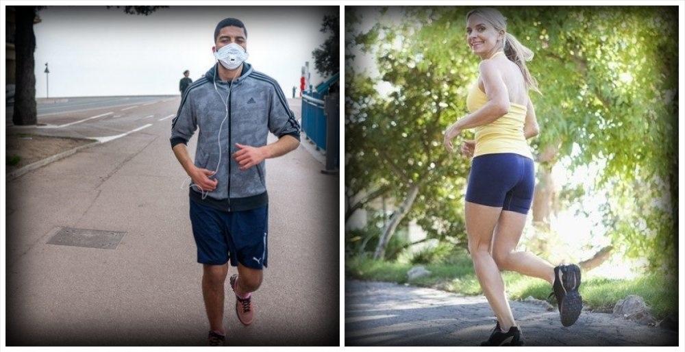 Caos coronavirus-runner: mascherina si per chi passeggia e no per chi corre?
