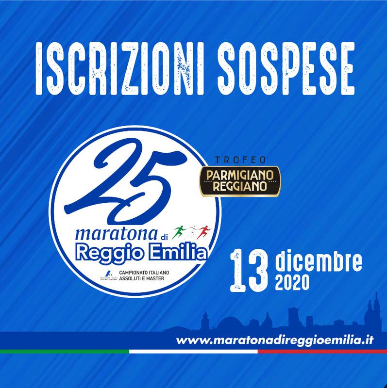 La Maratona di Reggio Emilia sospende le iscrizioni,  rischio cancellazione