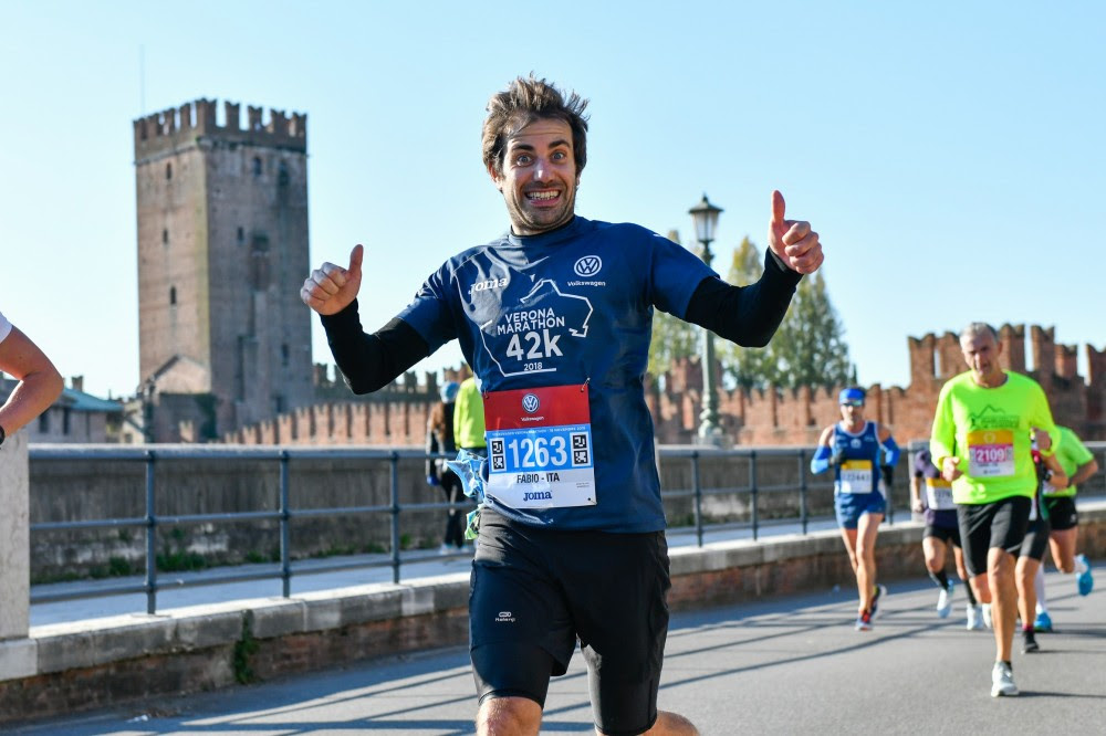 Verona Marathon virtuale il 15 novembre 2020