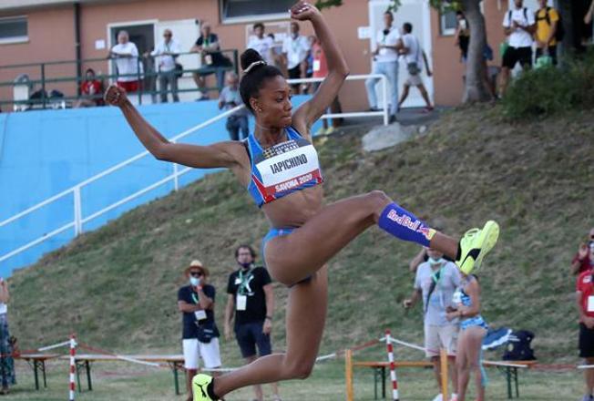 Larissa Iapichino entra in Fiamme Gialle insieme a 5 nuovi atleti