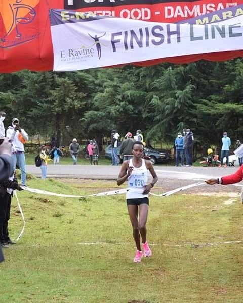 Daniel Mateiko ed Evelyne Chirchir dominano la mezza maratona di Eldama Ravine 2020