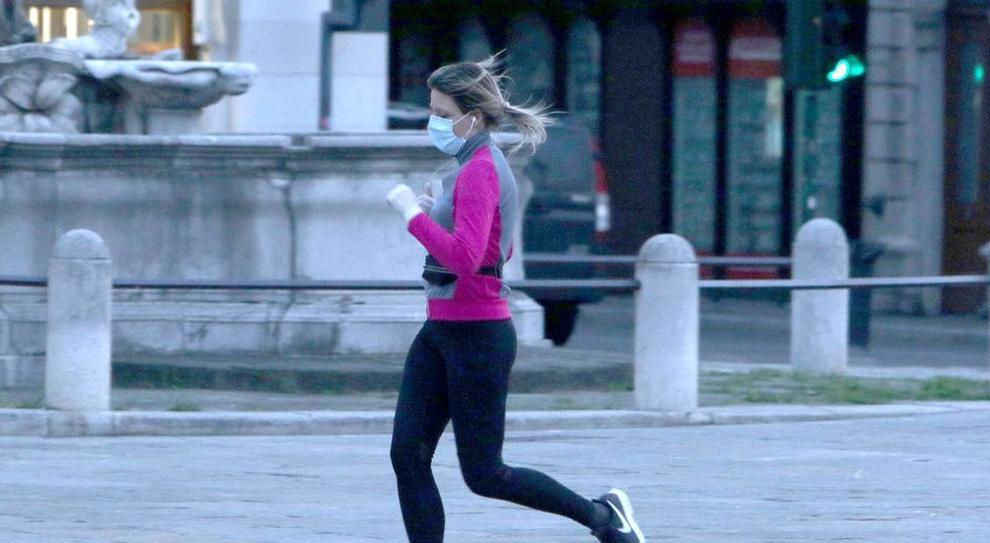 Dpcm 3 novembre, si può andare a correre?