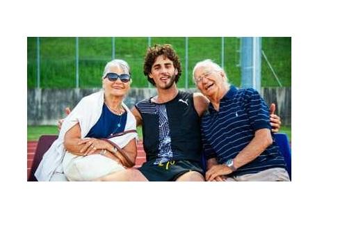 Scomparso l'amatissimo nonno di Gianmarco Tamberi