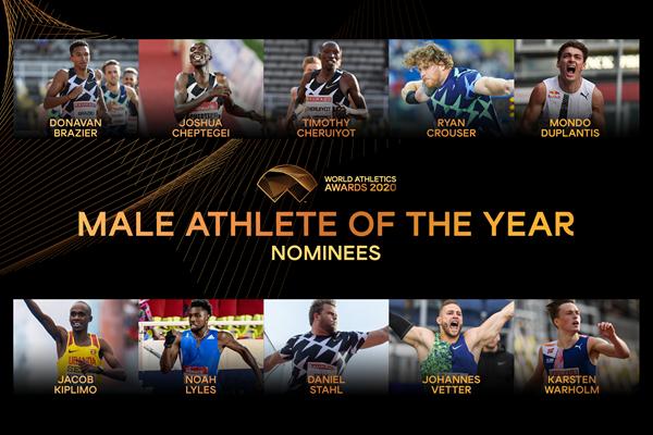 """""""Atleta mondiale maschile dell'anno"""" 2020: ecco i  10 candidati"""