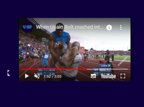 """Flashback Usain Bolt: il video di quella volta che si schiantò contro una """"fiorista"""" ad Oslo"""