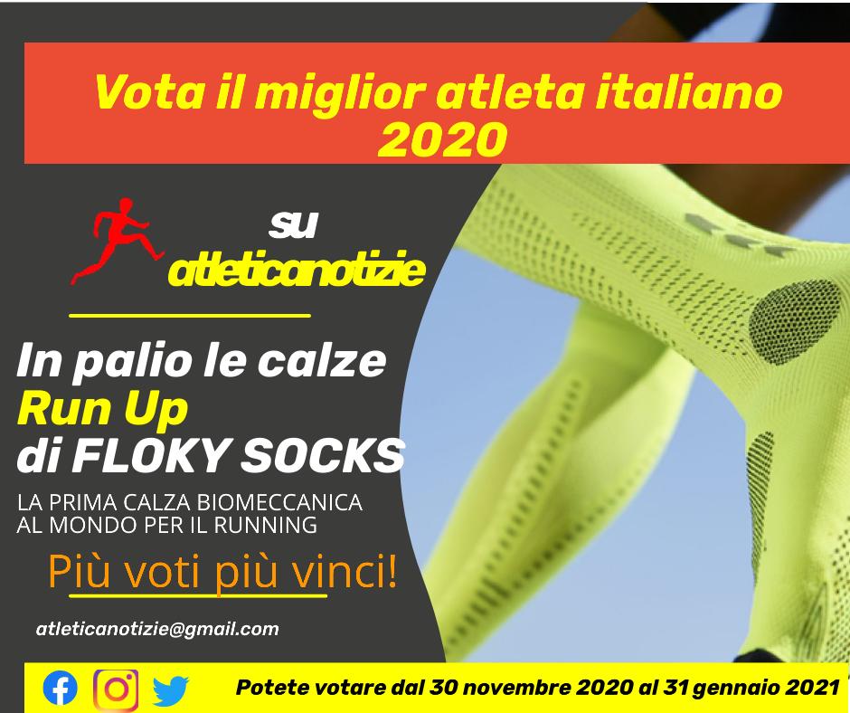 """""""Vota il miglior atleta italiano del 2020"""" su Atletica Notizie:  Assoluti, Master e tutte le categorie sotto i 23 anni"""
