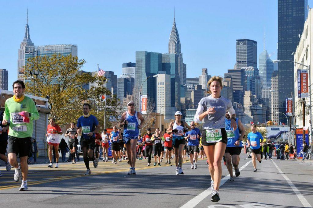 La Maratona di New York di oggi, è diventata virtuale