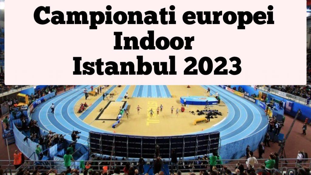 Europei di atletica leggera indoor 2023 assegnati alla Turchia