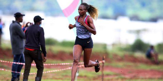 La campionessa mondiale di cross, Hellen Obiri apre la stagione con una vittoria