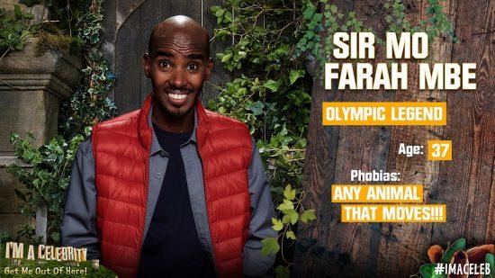 Mo Farah super compenso per partecipare al reality show