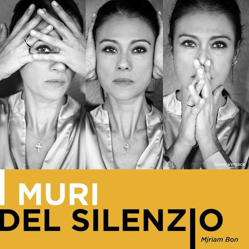 """Giusy Versace presenta il libro fotografico """"I Muri del Silenzio"""""""