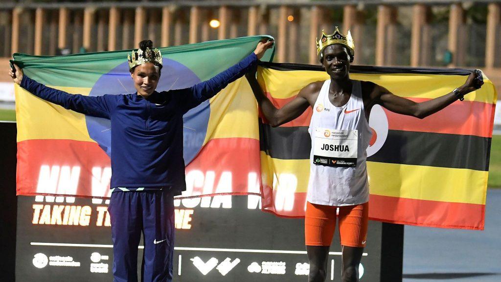 Ratificati i record mondiali di Joshua Cheptegei e Letesenbet Gidey