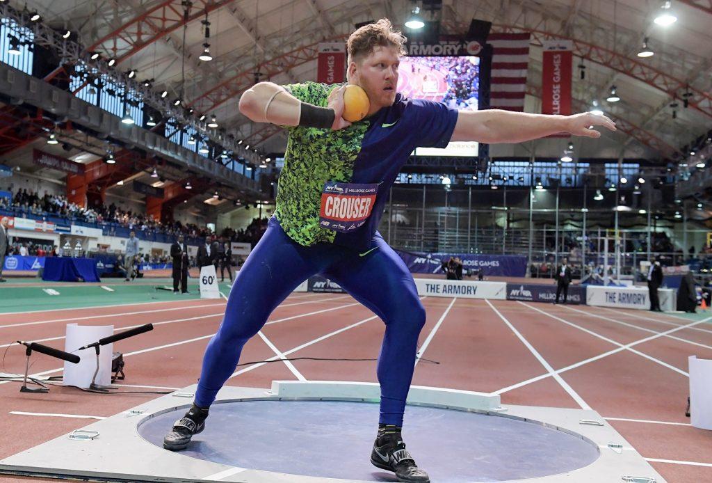 Ryan Crouser a 8 cm. dal record mondiale indoor nel peso, appuntamento solo rimandato?