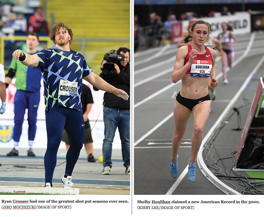 Ryan Crouser e Shelby Houlihan premiati migliori atleti Usa 2020 dalla rivistaTrack and Field News