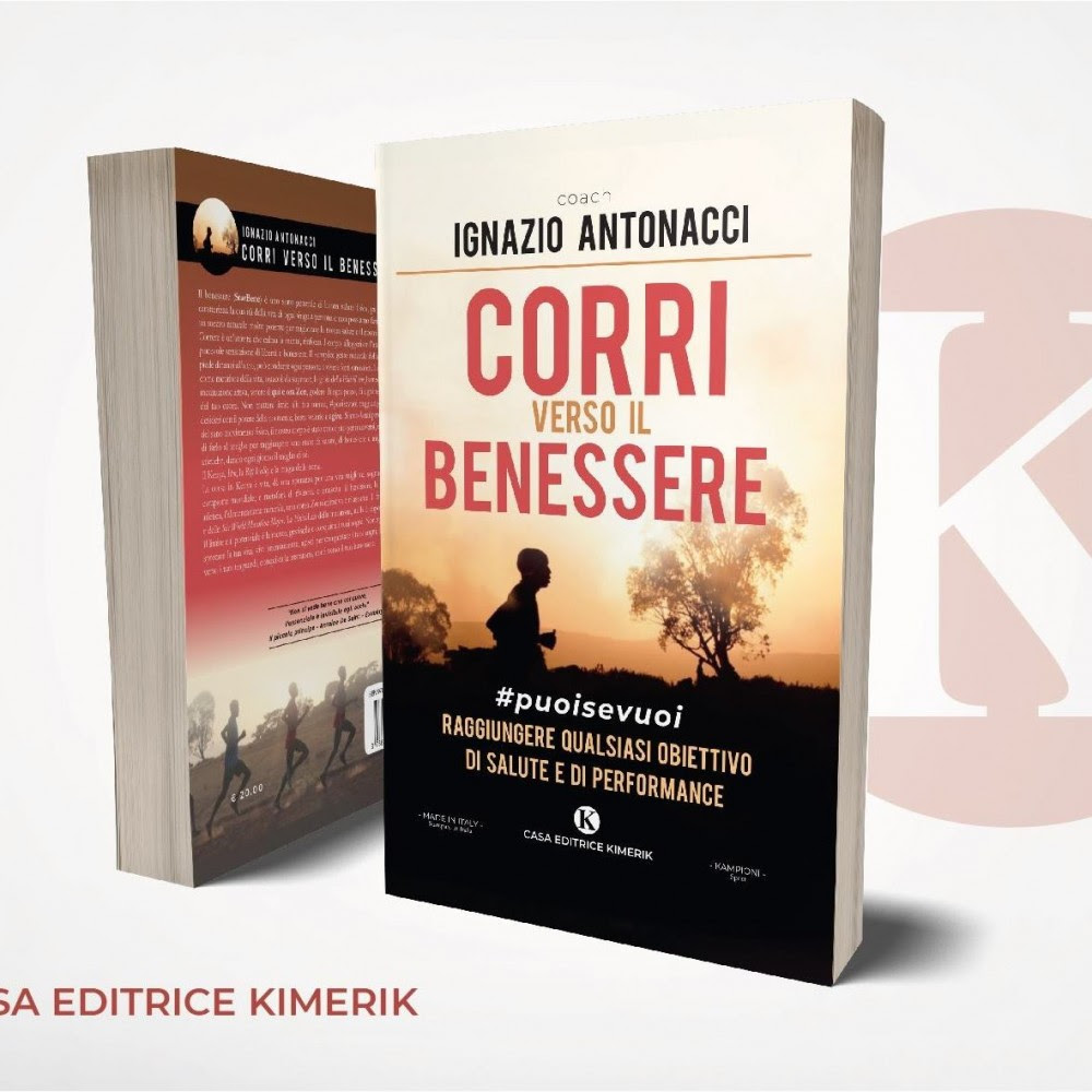 """In vendita """"Corri verso il benessere"""", la prima opera di Ignazio Antonacci"""