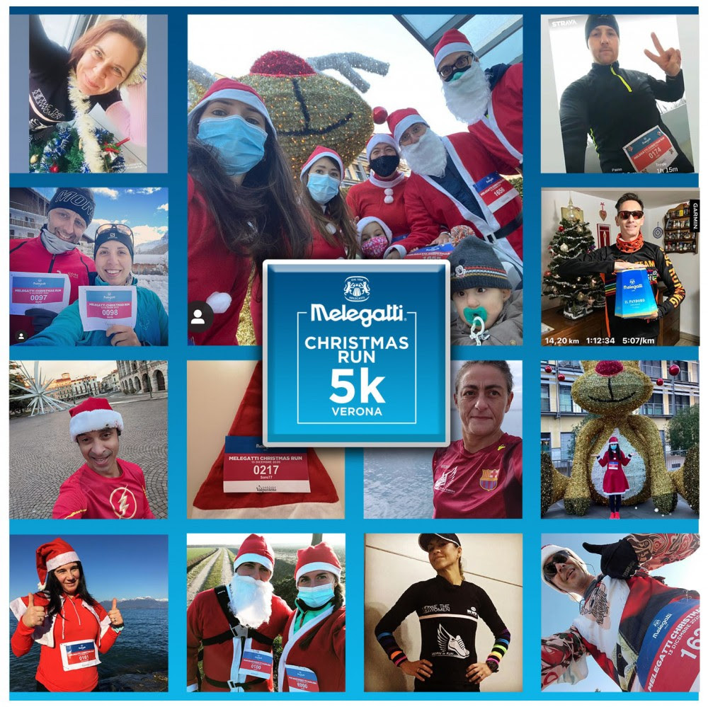 Melegatti Christmas Run Verona: quasi 1000 iscritti per l'evento solidale