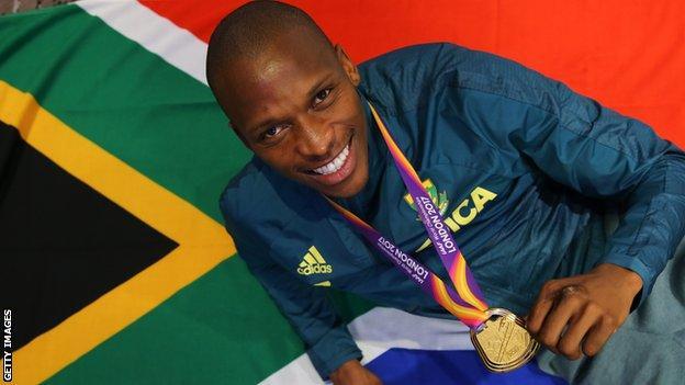 Doping: il saltatore in lungo sudafricano Luvo Manyonga sospeso provvisoriamente
