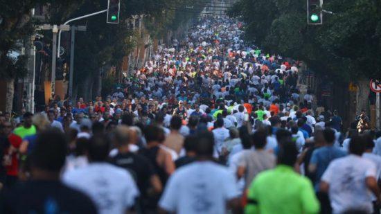 Anche la maratona di Tel Aviv diventa VIRTUALE a causa della pandemia