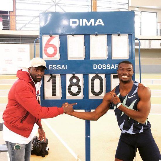 Strepitoso  Fabrice Zango: record mondiale nel triplo, superati i 18 metri indoor!