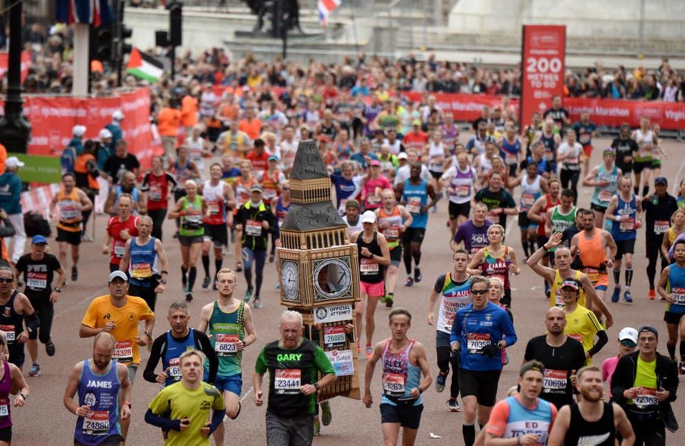 """Londra ospiterà la più grande maratona della storia con 100.000 corridori ad ottobre per """"uscire"""" dal covid-19!"""