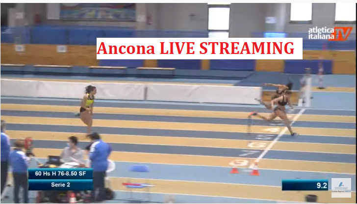 La diretta streaming del Meeting di Ancona indoor