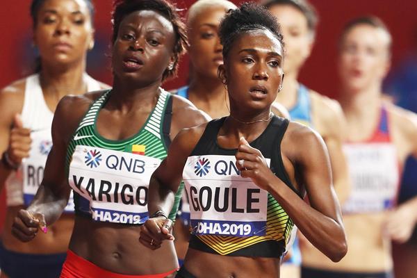 Migliori prestazioni mondiali nei 600 metri indoor di Naotoya Gaule e Kameron Jones