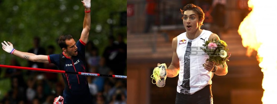 Lavillenie batte Duplantis: 6.02 per l'eterno francese contro il 6.01 per  il primatista mondiale