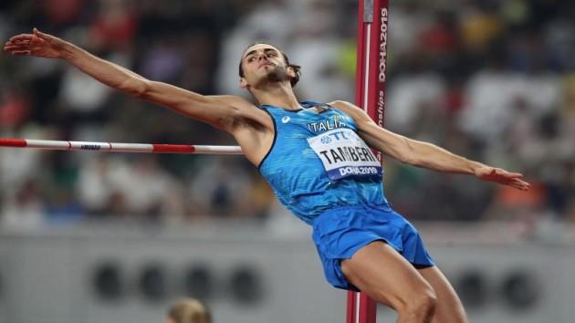 Gianmarco Tamberi esorirà sabato 30 gennaio ad Ancona in diretta streaming